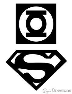 free printable superhero logos | This font has every superhero logo and more. My son loves me just ...