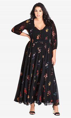 17e77733ee Sahara Floral Maxi Dress. Shop Women s Plus Size ...