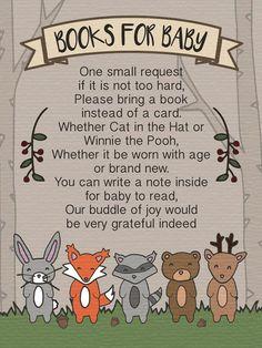 Woodland Baby Shower Party Invitation Printable by PencilToPixel