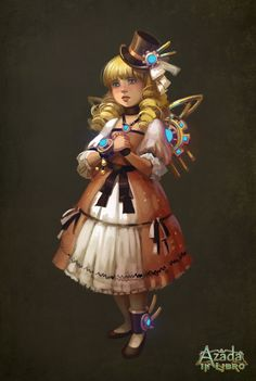 Azada - Little Girl by *Okha on deviantART