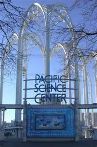 Pacific Science Center- great place with the Boys...