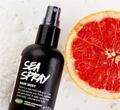 Sea Spray Hair Mist - there's a sea mist rolling in – but this one leaves you fresh, uplifted and perfumed. A salty spritz that gives body, volume and hold.