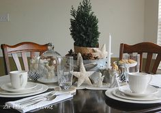 Christmas Table for two