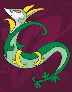 How to Draw Jalorda, Serperior, Step by Step, Pokemon Characters, Anime, Draw Japanese Anime, Draw Manga, FREE Online Drawing Tutorial, Added by Dawn, December 16, 2010, 8:01:47 am