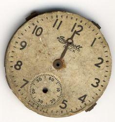 clock face freebie