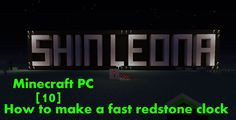 Minecraft PC - How to make a fast redstone clock