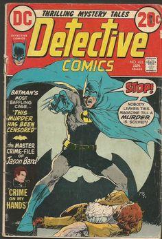 DETECTIVE COMICS #431 BATMAN DC COMICS 1973 Bronze Age Comic DC, KALUTA COVER