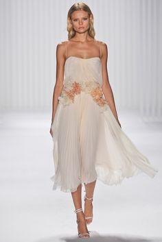 J. Mendel Spring 2013 Ready-to-Wear Fashion Show - Magdalena Frackowiak