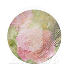 Sweet Roses Party Plates