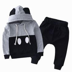 Minimalist Mickey Jogger 2 pc suit