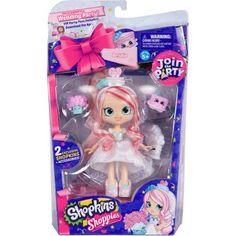Shopkins Shoppies Join The Party Doll Bridie - Trouva Shoppies Dolls, Shopkins And Shoppies, Shopkins Join The Party, Shopkins Room, Cookie Swirl C, Shopkins Season, Vip Card, Birthday List, Gameroom Ideas