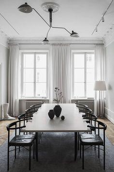 Elegant dining room | Dining room ideas | Classy interior