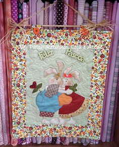 Panô de Páscoa by Patch Retalhos, via Flickr