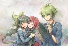 Tenko Chabashira, Himiko Yumeno, Rantaro Amami | New DanganRonpa V3.