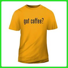 got coffee? - New Short Sleeve Adult Men's T-Shirt, Gold, XX-Large - Food and drink shirts (*Amazon Partner-Link)