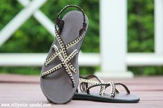 Summer shoes for women, braided rope sandal .... By : Nittynice Sandal