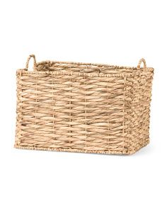 image of Twisted Water Hyacinth Basket