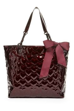 Betsey Johnson Heart Quilt Tote Bag by Need It Now on @HauteLook
