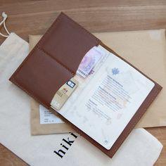 Porte-passeport en cuir - Les Raffineurs