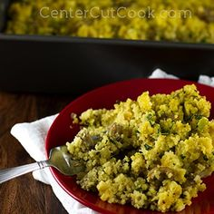 Corn Bread Stuffing with Sausage and Herbs | corn bread, olive oil ...