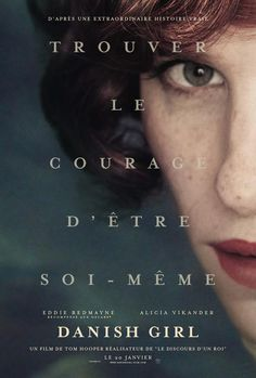 Eddie Redmayne s'affiche pour The Danish Girl