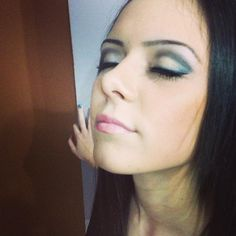 My Cousin, maked up by me:)