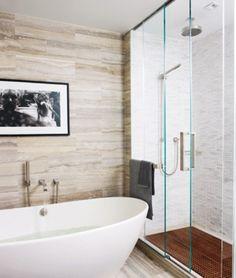 Banheiro Travertino Hilary Swank #CasasDeCelebridades #CasasDeFamosos #BanheiroTravertino #BanheiroMarmoreTravertino #MarmoreTravertino #Travertino