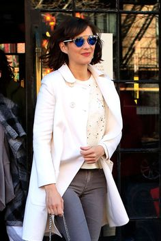The Best Beauty Looks of the Week: January 5, 2015 – Vogue. WHO: Marion Cotillard  WHERE: On the street, New York City  WHEN: January 5, 2015