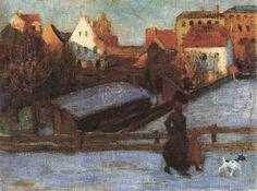 Kandinsky - Winter Landscape (1901)