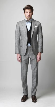 A nice tailored suit by Ovadia & Sons