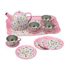 Pony Tin Tea Set