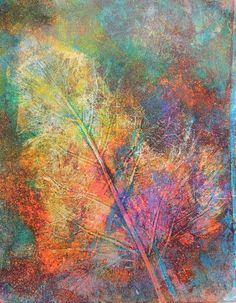 gelli on a plate - wibble wobble ...... - scrapitch