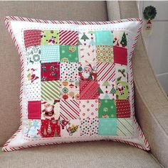One thing I love making right now are pillows. When I made my first quilted pillow, I had no idea how much I'd enjoy making them and how dar...
