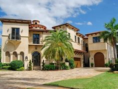 house colors that compliment with terracotta tile roof | Home #2: A Sprawling Mediterranean Mansion