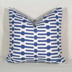 Etsy seller - Thefarley4.. Annie Selke Indigo Links fabric
