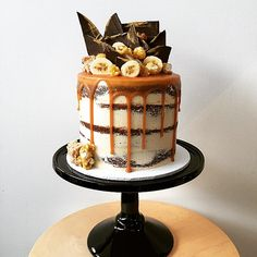 Creative Bakes // Banoffee Layer Cake