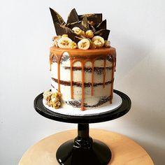 Creative Bakes // Banoffee Layer Cake