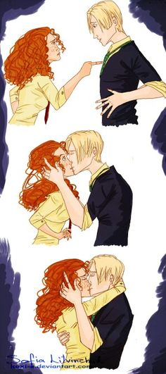 Rose& Scorpius ~ best way to stop a fight.