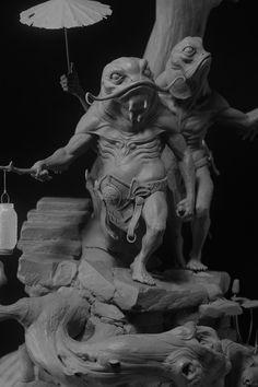 末那造型大奖丨《斗战神·鬼神誌(西游篇)--造型大奖》获奖作品公告 专题   leewiART 乐艺 建立你的个人艺术画廊,汇聚优秀的CG艺术作品