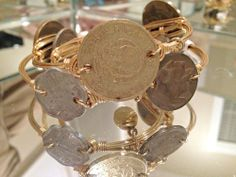 Bourbon & Boweties Coin Bangle.  I bought a similar one yesterday at a Lilly Pulitzer boutique!