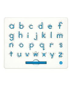 Take a look at this Lowercase Magnatab by Kid O on #zulily today!