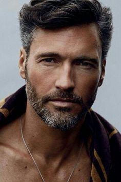 Iu0027ll Admit It... My Weakness... Beards! | · Modern HairstylesOlder Mens ...