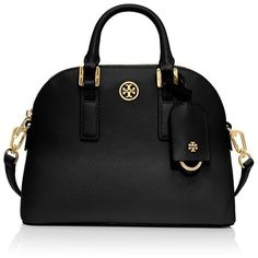 5a98701c617b Tory Burch Robinson Mini Dome Satchel Bag ( 395) ❤ liked on Polyvore  featuring bags