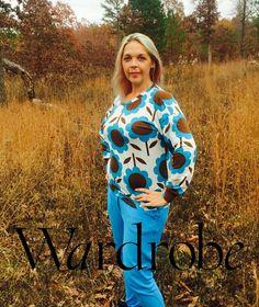Sweatshirt hoodie sewing pattern DIY pdf e book by Wardrobebyme
