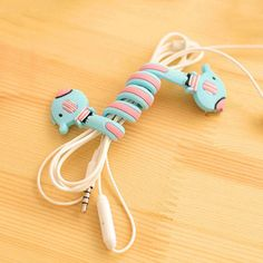 Accessories & Parts Consumer Electronics Chunghopnew Hottest 5-clip Tpr Earphone Cable Winder Organizer Charger Cable Protector Holder Cover Case Fixing Device