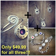 Christmas Bullet Jewelry Special by BangBlingJewelry on Etsy
