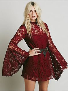 @FreePeople Wanderer Lace Dress, $64.00, was $128.  Black Friday sale, I LOVE this dress!