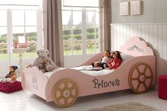 Princess Car Bed Frame by Nero Furniture | Harvey Norman New Zealand www.harveynorman.co.nz