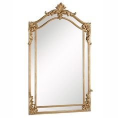 Antique 30 in. Contemporary Mirror in Antique gold leaf Elegant Lighting - Classic and modern style mirrors with an aged look. A contrast that is contemporary but reminiscent of the Features: Features exquisite beveled glassclear gl Cheap Wall Mirrors, Round Wall Mirror, Beveled Mirror, Gold Mirrors, Framed Mirrors, Vintage Gold Mirror, Floor Mirrors, Mirror Set, Mirror Ideas