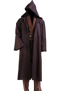 CosplaySky Star Wars Jedi Robe Costume Anakin Skywalker Halloween Outfit Large *** Check out this great product.
